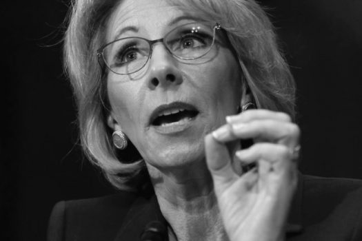 Richardson-Borne Interviews Betsy DeVos