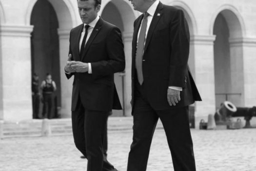 Richardson-Borne Revises Trump-Macron Press Conference